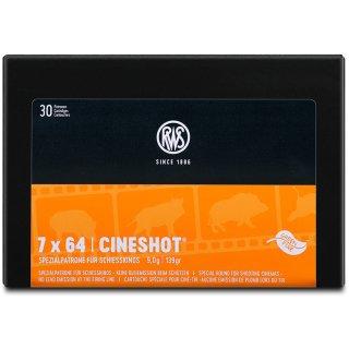 7x64 RWS Cineshot 139grs - 50Stk