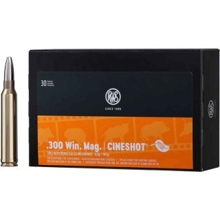 .300 Win Mag. Cineshot 147grs - 50Stk