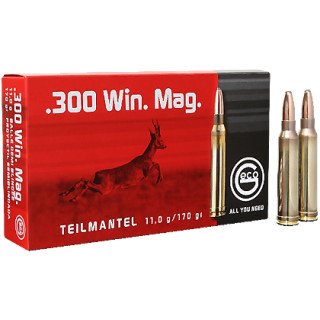 .300 Win. Mag. Geco Teilmantel 170grs - 20Stk