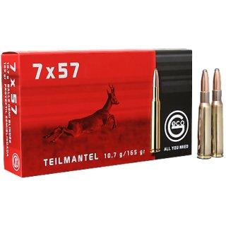 7x57 Geco Teilmantel 165grs - 20Stk