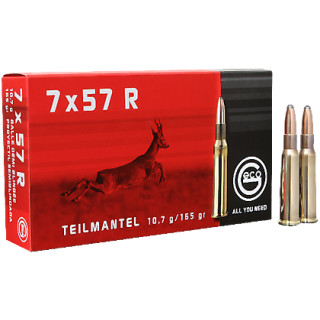 7x57R Geco Teilmantel 165grs - 20Stk