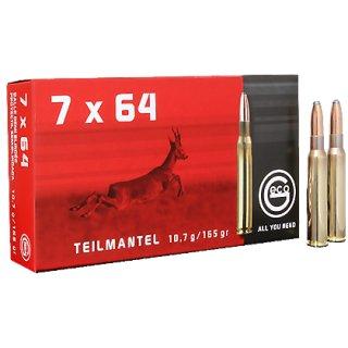 7x64 Geco Teilmantel 165grs - 20Stk