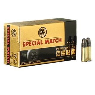 .22 lr. RWS R Spezial Match 40grs - 50Stk