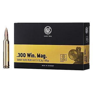 .300 Win. Mag. RWS Target Elite Plus 190grs - 20Stk