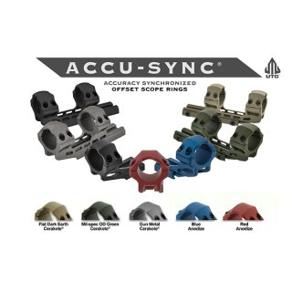 UTG ACCU-SYNC Blockmontage 25,4 mm Medium 34 mm Offset Pro