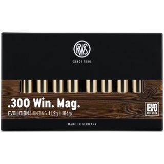.300 Win Mag. RWS Evo 184grs - 20Stk