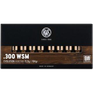 .300 WSM RWS Evo 184grs - 20Stk
