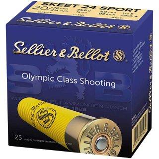 20/70 S&B Skeet Sport 24g - 2,0mm - 25Stk