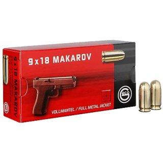 9mm Makarov Geco FMJ 95grs - 50 Stk
