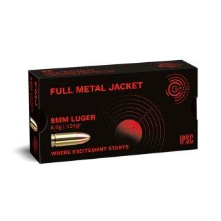 9mm Luger Geco FMJ 124grs 50Stk