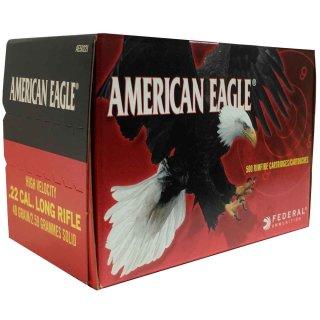 .22 lfb. Federal Ammunition American Eagle HV Solid 40 grs - 500Stk