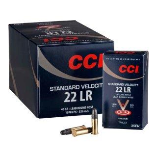 .22 lfB. CCI Standard Velocity 40 grs. - 500 Stk