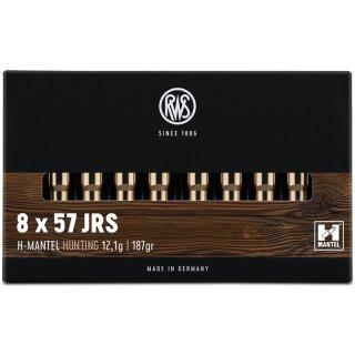 8x57 IRS RWS HMK 187grs - 20Stk