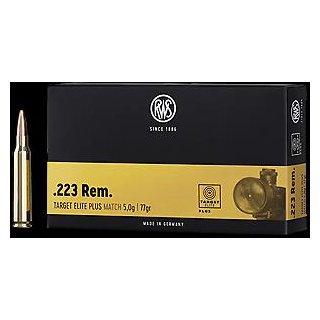 .223 Rem. RWS Target Elite Plus 77grs - 20Stk