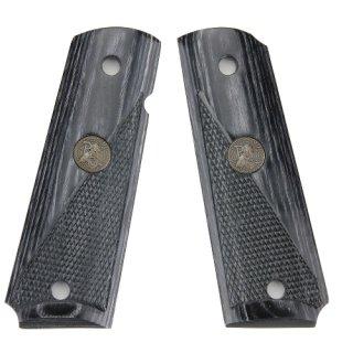 Pachmayr Griff für Colt 1911 - S.Charcoal h-punziert