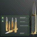 .308 Win S&B FMJ Screen-Ammo Zink 124grs - 50Stk