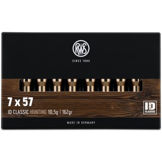 7x57 RWS ID Classic 162grs. - 20 Stk