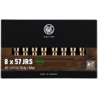 8X57 IRS RWS HIT 160grs. 20Stk