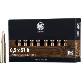 6,5x57R Mauser RWS KS 127grs - 20Stk