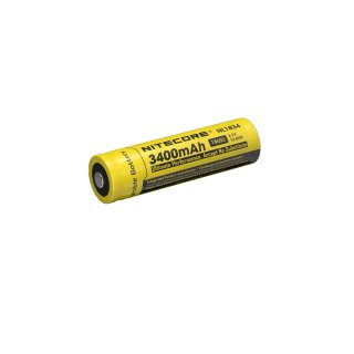 Nitecore 18650 NL1834 - 3400mAh (geschützt) - 4A