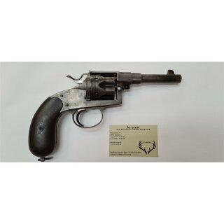 Reichsrevolver M1883 - 10,55 mm x 25R