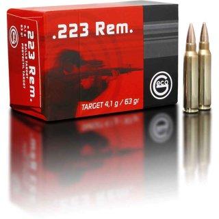 .223 Rem. Geco Target FMJ 63grs. 50Stk