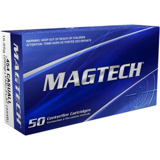 .454 Casull Magtech FMJ Flachkopf 260grs - 20Stk