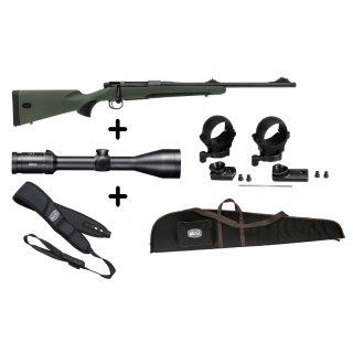 Mauser M18 Waldjagd - .308 Win Komplettpaket + Meopta Meostar R2 + Montage + Futteral + Gewehrriemen