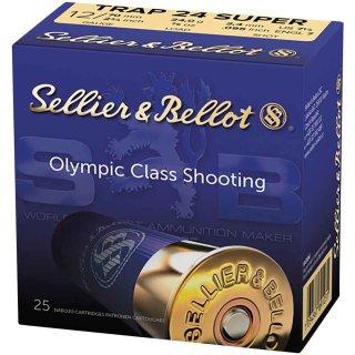 12/70 S&B Super Trap 24 - 24g - 2,4mm - 25Stk