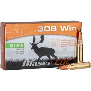 .308 Win Blaser CDC 160grs Bleifrei - 20 Stk