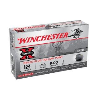 12/70 Winchester Slug Super X - 5 Stk