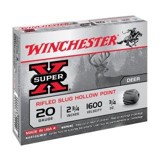 20/70 Winchester Slug Super X - 5 Stk