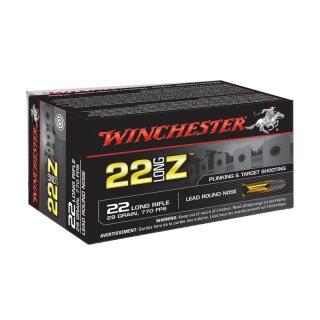 .22 lfb. Winchester 29grs Long Z - 50Stk