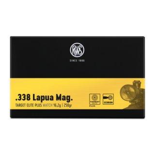 .338 Lapua Mag. RWS Target Elite Plus 250grs - 20Stk