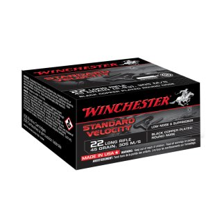 .22 lfb. Winchester SV CP LRN 45grs  - 235Stk