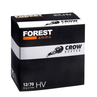 12/70 Forest Ammo Crowbuster - 2,7mm - 32g
