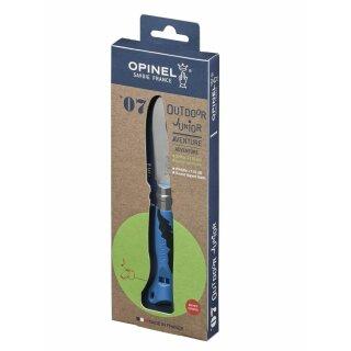 Opinel No 07 Kindermesser OUTDOOR JUNIOR, blau