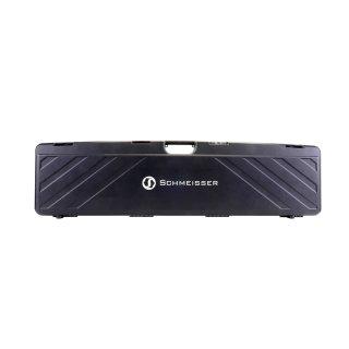 Schmeisser Gewehrkoffer, Polymer schwarz mit Zahlenschloss mit und ohne Schmeisser-Logo