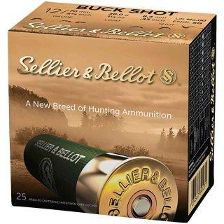12/70 S&B Buck Shot 8,4mm 25Stk
