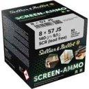 8x57 IS S&B FMJ Screen-Ammo Zink 140 grs - 50Stk