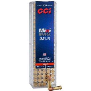 .22 lfB CCI Mini Mag. 40grs - 100Stk