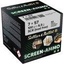 7x57 S&B Screen-Ammo SCR Zink 100 grs. 50Stk