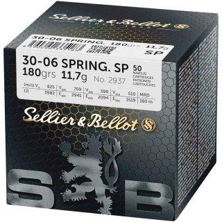 .30-06 Spr. S&B SP 180grs. 50Stk.
