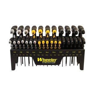 Wheeler® 30-Piece P-Handle Driver-Set, 30-tlg. (P-Griff Inbus- und Torx-Schraubenzieher-Set)
