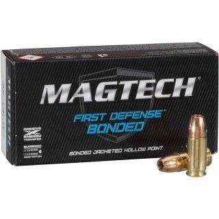 9mm Luger Magtech JHP 147 grs. 50Stk - First Defense Bonded