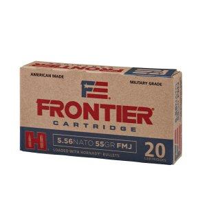 .223 Rem. Frontier FMJ 55 grs. Hornady Geschoss 20Stk