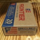 .223 Rem. Frontier HP- Match 55 grs. Hornady Geschoss 20Stk