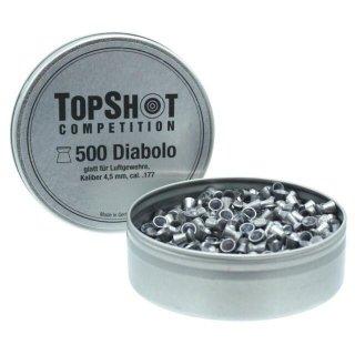 Diabolo TOPSHOT glatt 4,5mm, (.177)