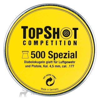 Diabolo TOPSHOT, Spezial LG+LP, 4.5mm (.177) gelb