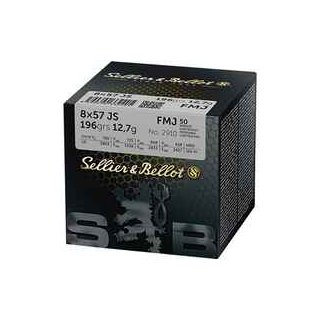 8x57 IS S&B FMJ 196 grs. - 50Stk